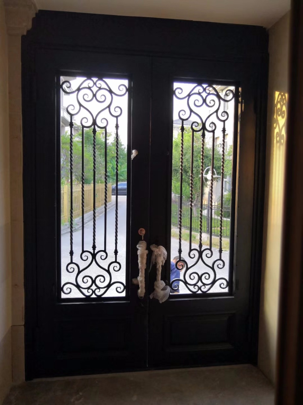 Tuscan Iron Doors Decorative Iron Security Doors
