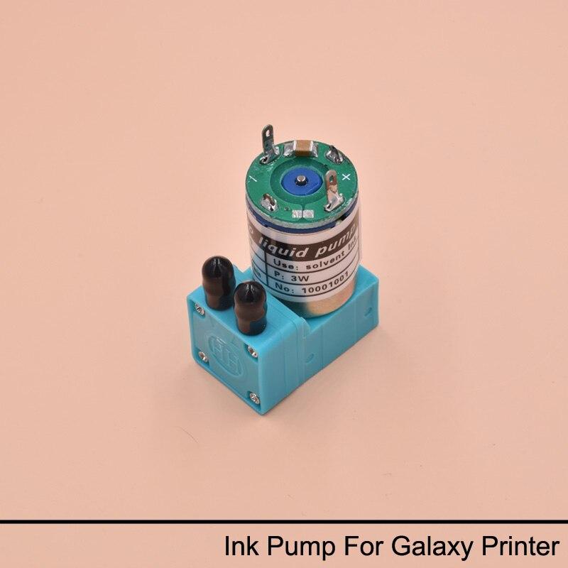 10 unids 3 W DG 10 bomba de tinta para impresora galaxia Ud 181LA 1812LA 1812LC 2512LC 3212LC bomba de tinta eco impresora solvente