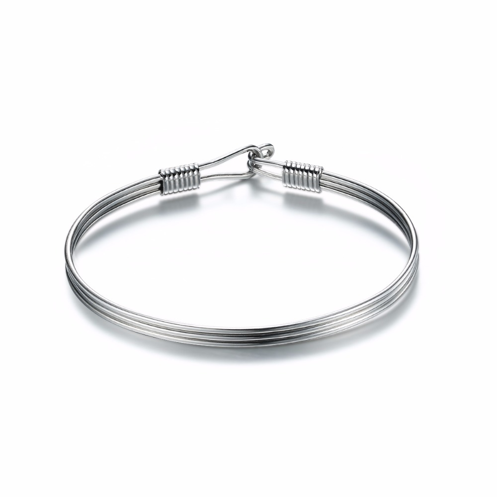 ₪Wholesale Three Layers Cuff Bangle 65mm Adult Size Stainless Steel ...