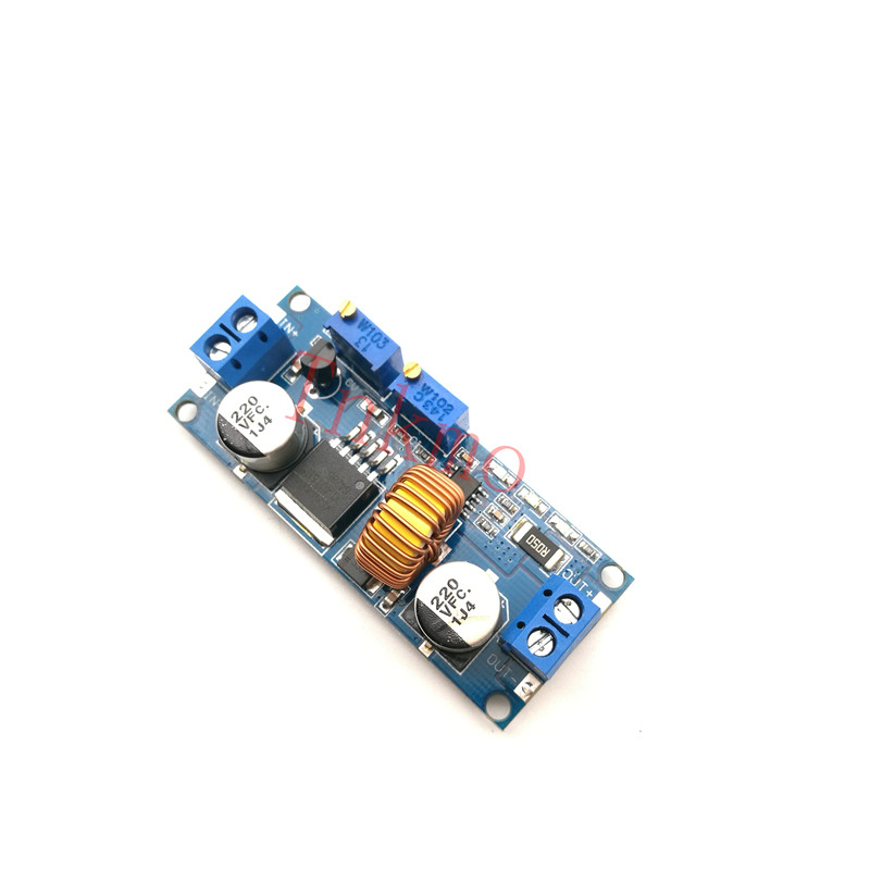 1p Original 5A DC to DC CC CV Lithium Battery Step down Charging Board Led Power Converter Lithium Charger Step Down Module for 1pcs 1500w 30a dc dc cc cv boost converter step up power supply charger adjustable dc dc booster adapter 10 60v to 12 90v module