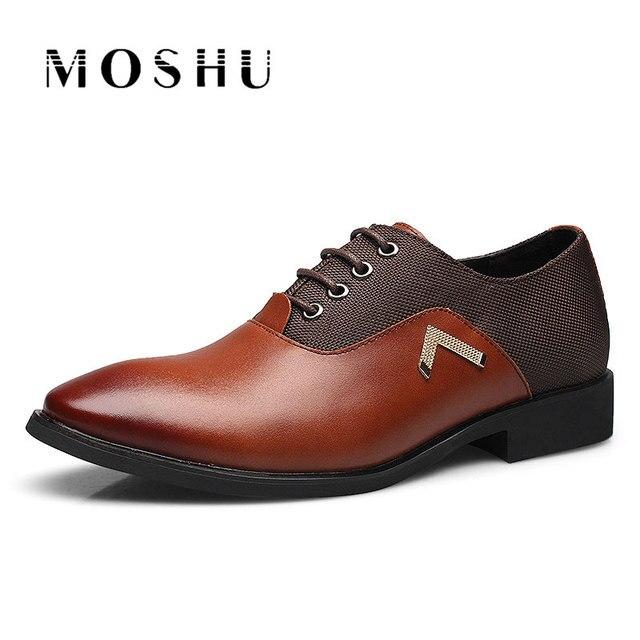 Hommes Classique Chaussures D'affaires Cuir Luxe De Homme En MzpSqUVG