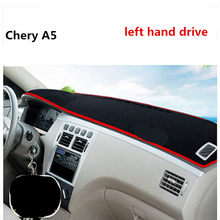 Aliexpress left hand drive for Chery A5 car dashboard pad Prevent bask in mat for Chery
