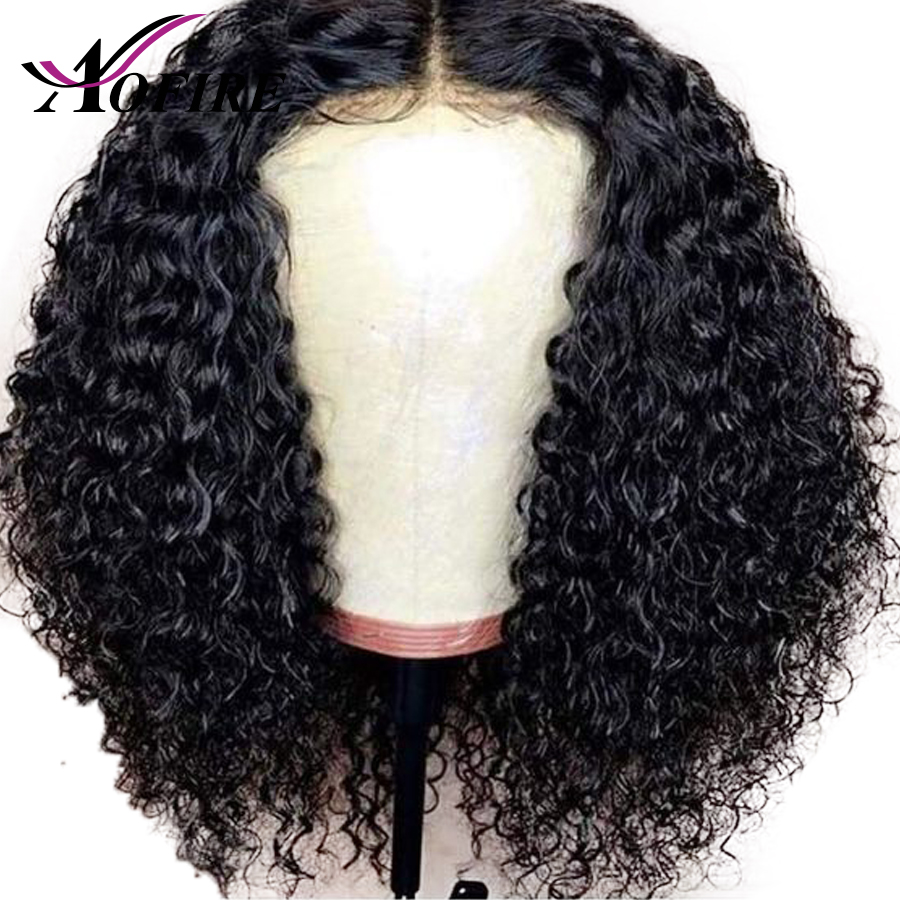 150 180 Density Brazilian Remy Curly Hair Lace Front Human Hair Wigs For Women With Baby