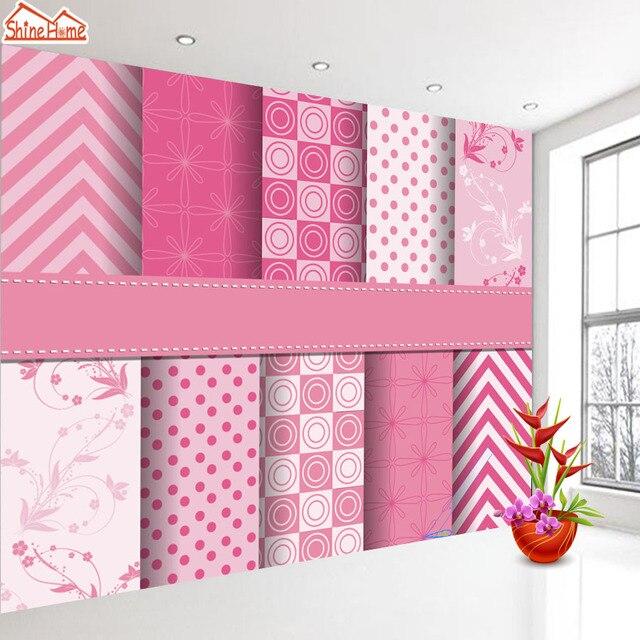 ShineHome Chinese Farbe Hintergrund Design Muster Tapete Wand 3d Wandbilder  Für Wände 3 D Tapeten