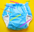 Free Shipping FUUBUU2226-BLUE  Waterproof pants/Adult Diaper/incontinence pants /Pocket diapers