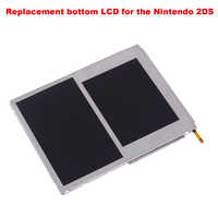 Replacement Part DIY Gift LCD Display Easy Install Practical Game Component Screen Protector Top And Bottom For Nintendo 2DS