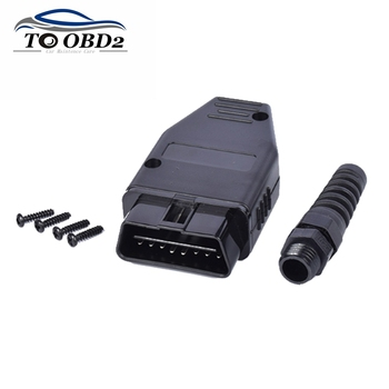Car Diagnostic Tool OBD Male Plug 16Pin OBD2 Connector OBD 2 16 Pin OBD II Adaptor OBDII J1962 Connector Best Price image