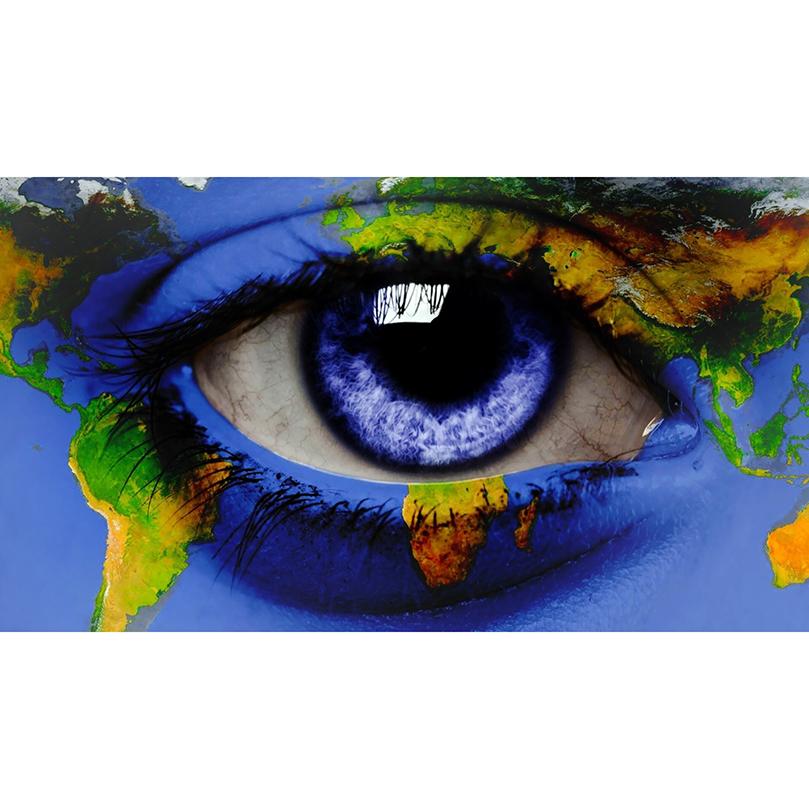 US $4.05 19% OFF Eye & world map 5D Crafts Diamond Painting Diy Full on eye earth, eye mind map, eye egypt, eye clock, home depot map, an old map,