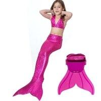ファクトリーアウトレット水着フルスケールリトルマーメイドテールコスプレでmonofinビキニ新しい女の子夏ドレス人魚の衣装