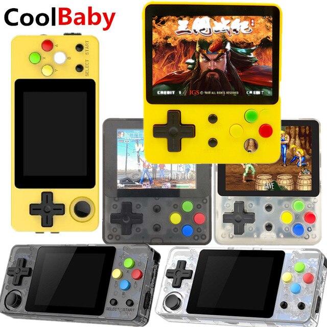 Open source ldk jogo 2.6 polegada tela mini handheld console de jogos nostálgico crianças retro jogo mini família tv consoles vídeo