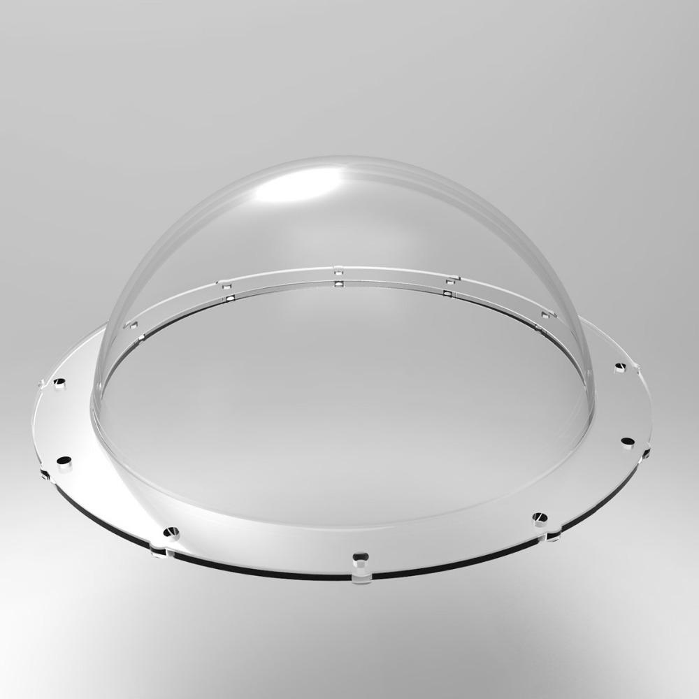 Prix pour 6 pouce Dôme Port Logement Couvercle Transparent Remplacement pour tous les TELESIN Dôme Port pour GoPro Hero 5, Hero 4 3 + 3, Xiaomi Yi 4 K