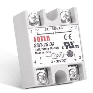 Image 2 - 10PCS/Lot 25A DC to AC SSR Solid State Relay SSR 25DA 3 32V DC