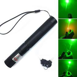 Охота 532 нм 5 мВт зеленый лазер лазерный видеоискатель 303 лазерная указка высокое мощное устройство Регулируемый фокус лазер ручка голова