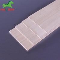 HAUBAY Paulownia Wood Sheet 1000x100x1/1.5/2/2.5/3/4/5/6/8mm lots of 10pcs Wood Sheets for DIY Crafting Christmas Deals