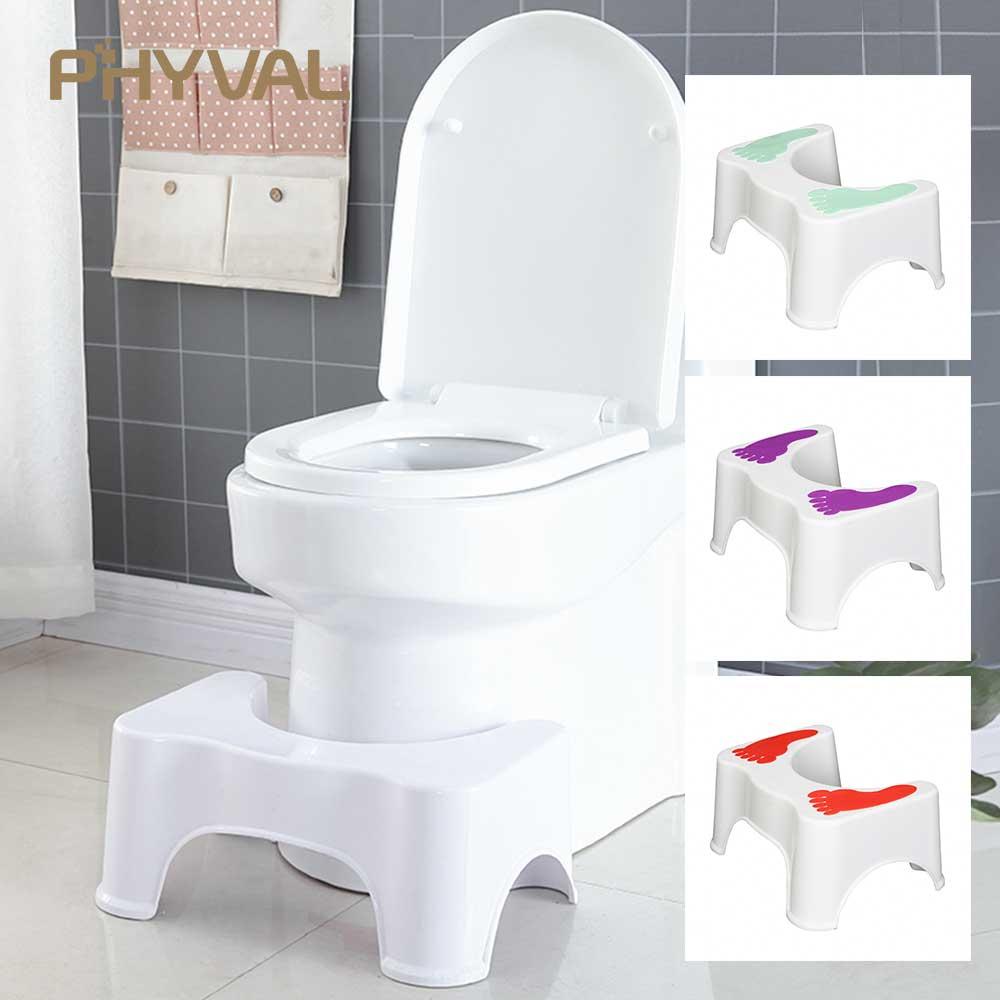 Toilet Stool footstool step stool Toilet bowl step stool bathroom stool Squatting Children Pregnant Women Footstool 47*33*21CM toilet seat