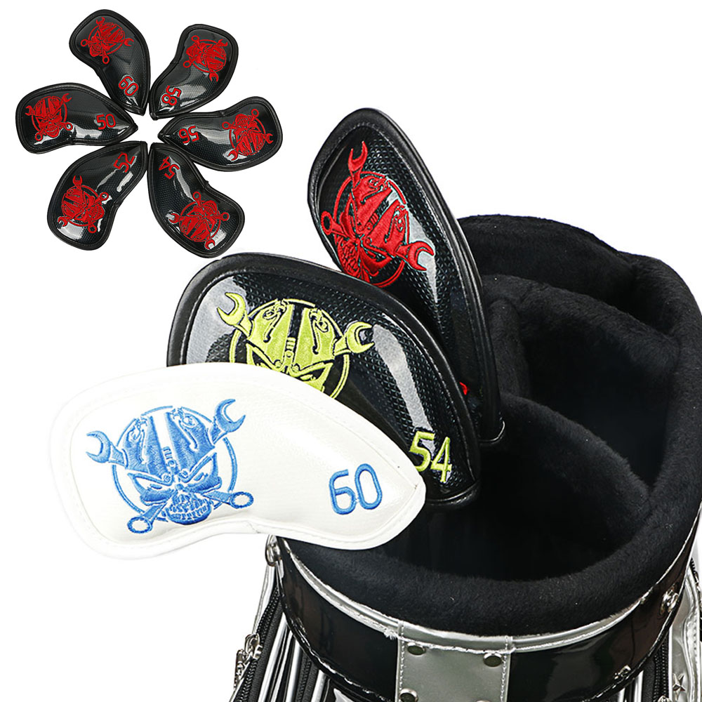 NEW Skull Golf Wedges Cover Headcovers