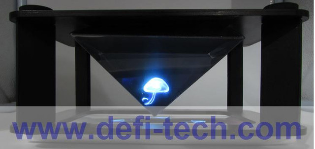 DfLabs Max 12 inches DIY 3D Holographic Projection Pyramid