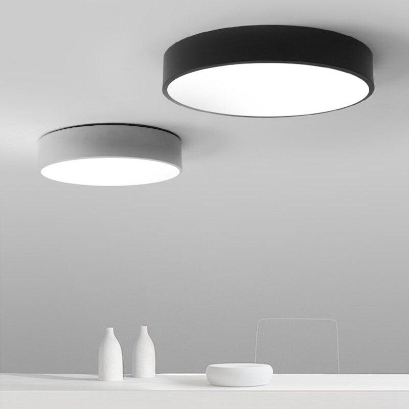 US $23.4 35% OFF|LED Deckenleuchten Eingang Küche Toilette Licht Küche  Badezimmer Moderne Runde Led deckenleuchte Balkon Aisle Korridor Treppe-in  ...