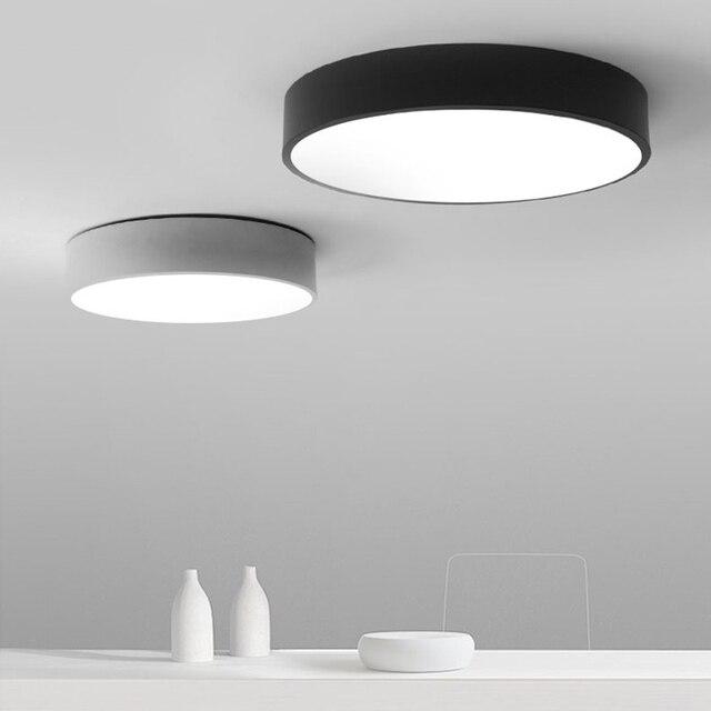 LED Luces de techo cocina entrada higiénico cocina baño redonda ...