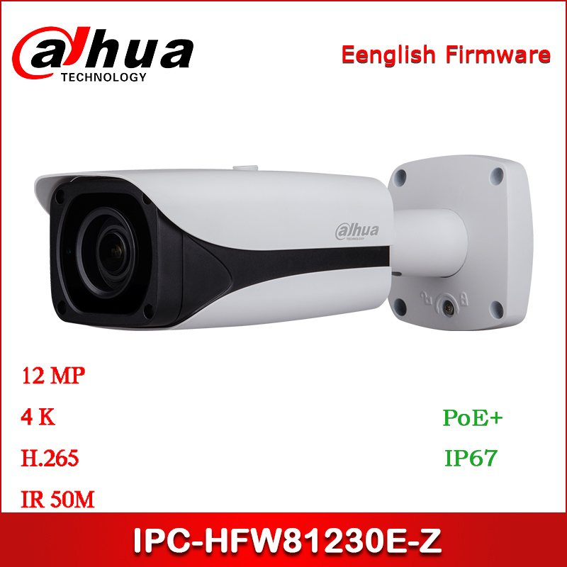 <font><b>Dahua</b></font> <font><b>IP</b></font> <font><b>Camera</b></font> IPC-HFW81230E-Z <font><b>12MP</b></font> 4.1mm ~16.4mm motorized lens IR Bullet Network <font><b>Camera</b></font> with POE+ Security <font><b>Camera</b></font> image