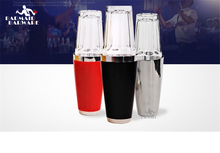 400/850ml Shaker Boston Glass Cup Stainless Steel Colored Hall Shake American Bar Tools