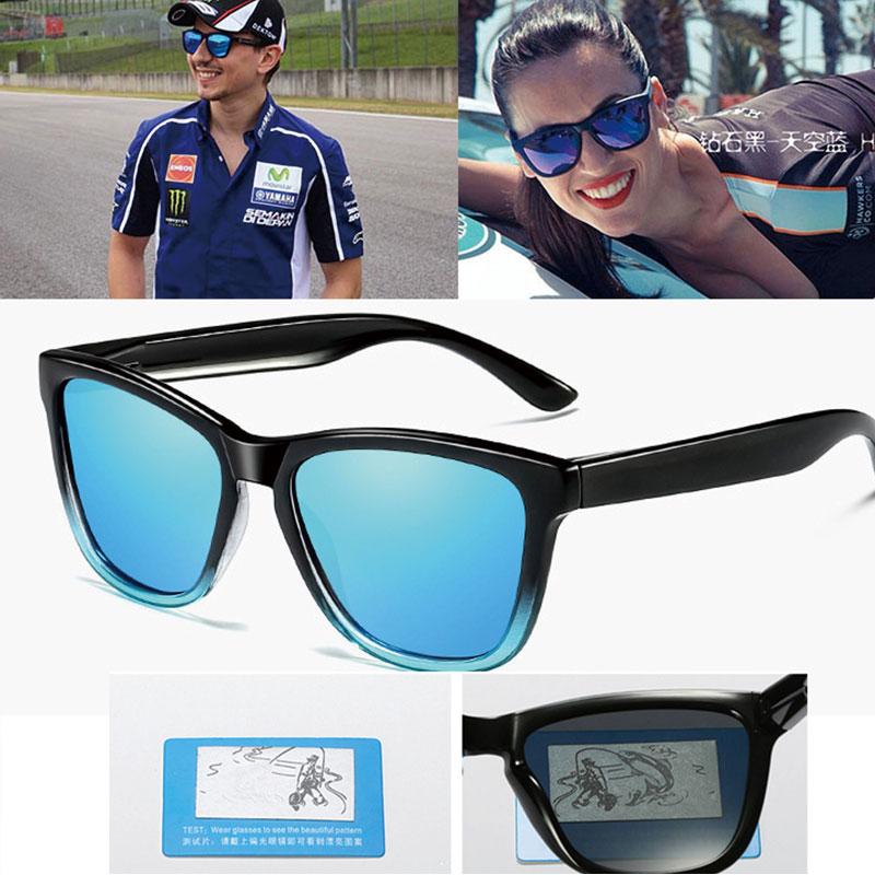 2019 Reggaeon Hohe Qualität Farbe Objektiv Gradienten Sonnenbrille Polarisierte Mann Blendung Sonnenbrille Weibliche Reise Sonnenbrille Uv 400 Farben Sind AuffäLlig