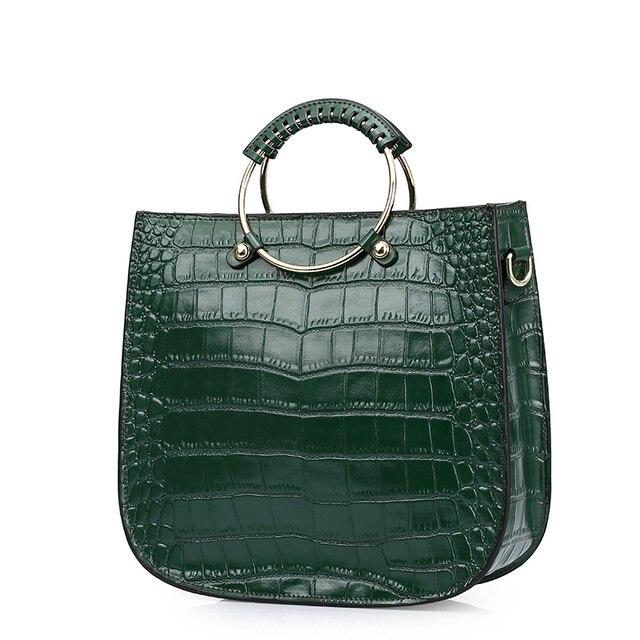 4bcf46725 2017 Designer brand women handbag 100% genuine leather tote bag  femaleshoulder bags ladies handbags messenger bag