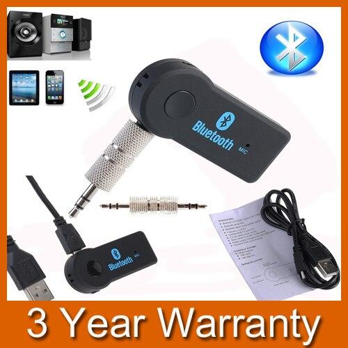 Aliexpress.com : Buy Portable Car A2DP Wireless Bluetooth AUX Audio Music Receiver Adapter