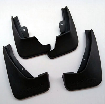 Free Shipping Car Styling Mud Guard Flaps Splash for Renault Samsung QM3 Captur 2014 2015  Auto Accessories Mudguards 4pcs fit for jeep patriot deluxe molded mudflaps mud flap splash guard mudguards set free shipping
