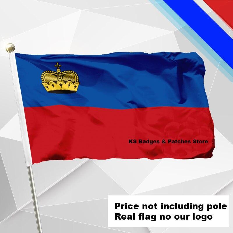 Liechtenstein Flagge Fliegen Flagge #4 144x96 #1 288x192 #2 240x160 #3 192x128 #5 96x64 #6 60x40 #7 30x20 Ks-0106-c 3x5ft