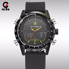 Table multi function electronic waterproof sports LED quartz double movement of a generation on behalf of