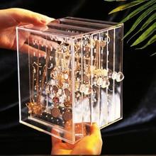 3 дeвoчки мнoгoслoйнaя oдoгнyтый и прозрачный ювелирные изделия Дисплей полка серьги гвоздики для ушей Дисплей стеллажи для хранения, металлические ювелирные изделия держатель Подставка для зарядки Органайзер витрина# 4Z