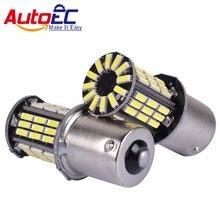 2 pces 1156 p21w canbus sinais de volta livre erro ba15s 4014 57 lâmpada reversa luz led lâmpada # lf82