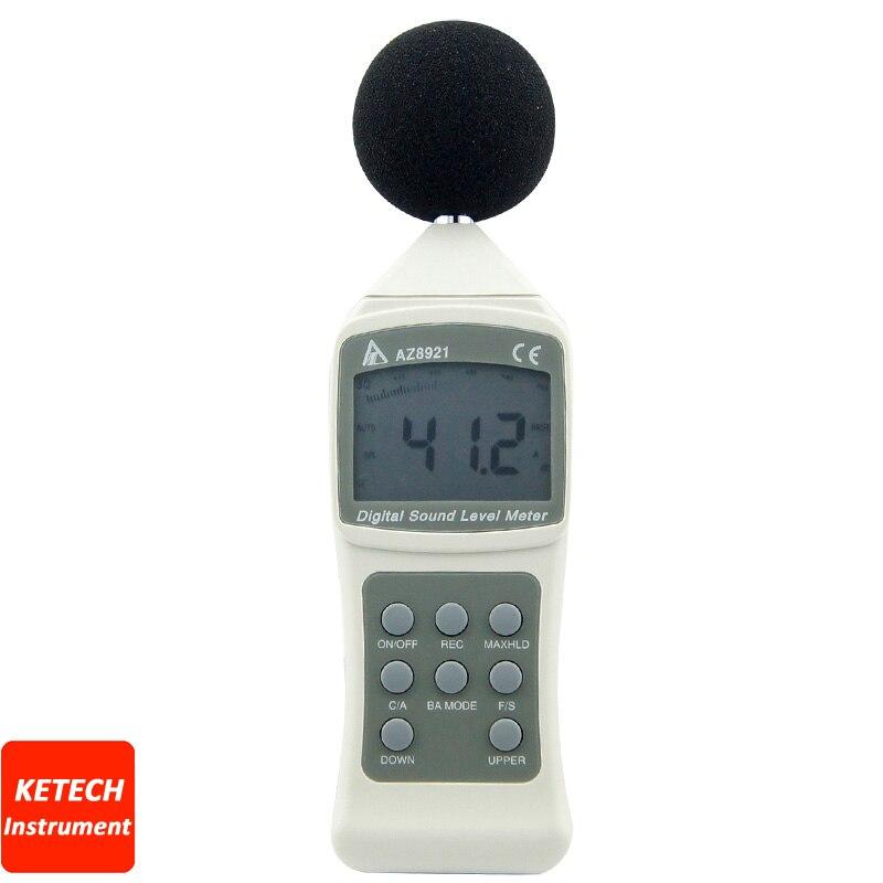 Digital Noise Meter Sound Level Meter Decibel Tester AZ8921