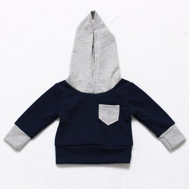 COSPOT Baby Boys Hoodies Boy Hooded Coat for Autumn Spring Boy's Cotton Sweatshirt Kids Cute Plain Tops 2017 New Arrival 28D