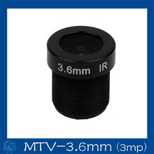 3mp 3.6mm  cctv board camera lens Board Fixed F2.6 Lens .MTV-3.6mm(3mp)