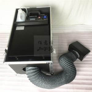 Image 5 - 1 шт./лот, бесплатная доставка, небольшая противотуманная машина на водной базе мощностью 3000 Вт, дымовая машина с туманом и шлангом на выходе