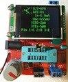 2016 kits DIY TFT LCD LCR Mega328 Transistor Tester medidor de Capacitância ESR Diodo PWM Freqüência do pulso de onda Quadrada Gerador de Sinal
