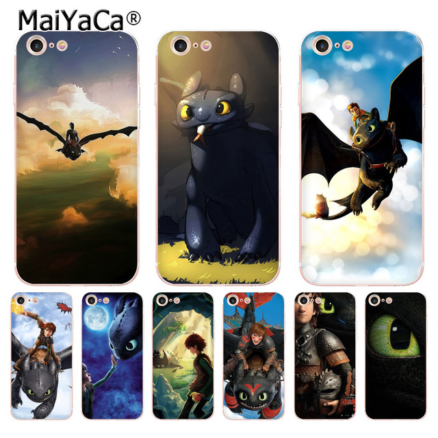 sports shoes 1fd05 35149 US $1.32 49% OFF|MaiYaCa toothless How To Train Your Dragon soft tpu phone  case cover for Apple iPhone 8 7 6 6S Plus X 5 5S SE 5C 4 4S Cases-in ...
