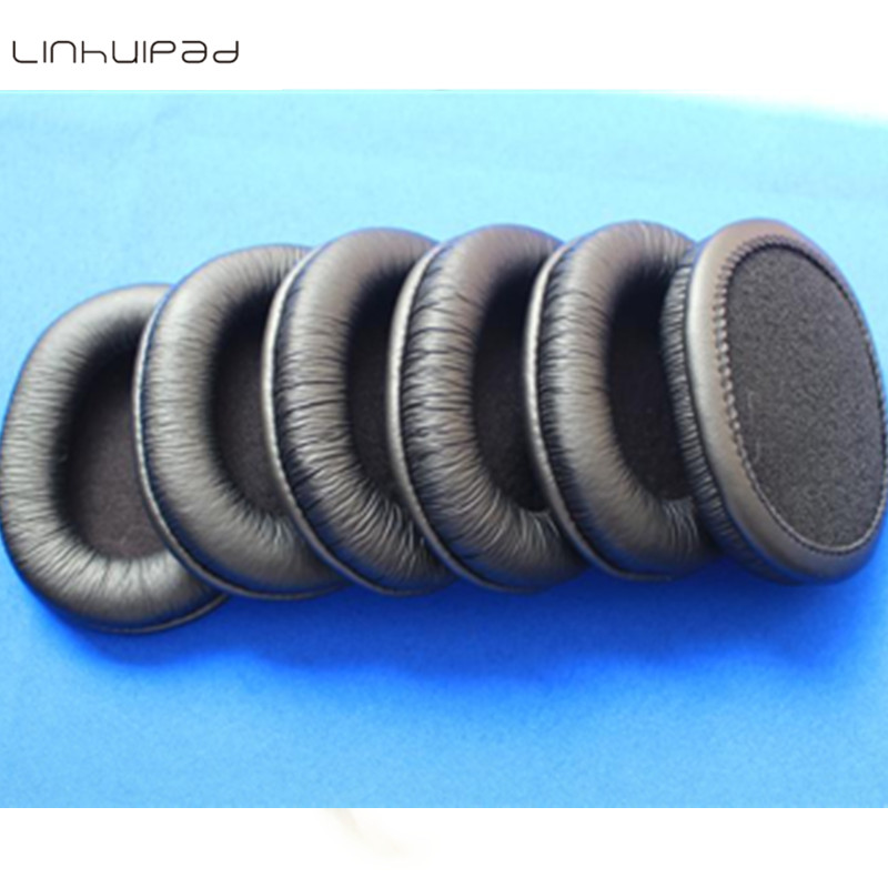 Linhuipad 20pcs 10pairs Soft leatherette ear cushions ear pads sponge Cushion for Sony MDR 7506 MDR V6 MDR CD900ST headphones in Earphone Accessories from Consumer Electronics