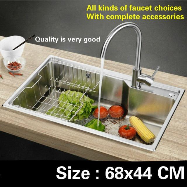 Standard Di Trasporto Libero Mini Lavello Della Cucina Food Grade In  Acciaio Inox 304 Singolo