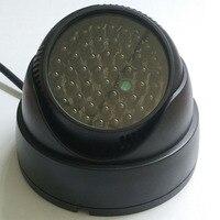 Luz infrarroja invisible de 940nm, iluminación LED de visión nocturna IR negra, foco IR, cámara CCTV, lámpara adicional, 48 Uds.