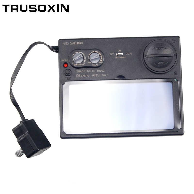 Светодиодный аккумулятор LI на солнечной батарее Автоматическое затемнение TIG MIG MMA MAG KR KC электрическая сварочная маска/шлемы/сварочный колпачок