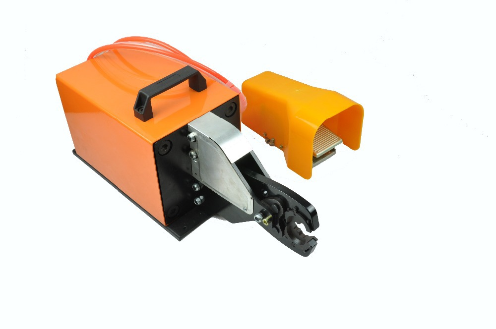 AM-240 pneumatic crimping tools for 16-240mm2 non-insulated cable lug electric crimping machine