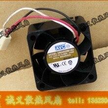 AVC DB04028B12U 40*40*28 DC 12 В 0.66A двойной шарикоподшипник сервер инвертор Вентилятор охлаждения
