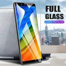 2 pièces/lot verre trempé complet pour Xiaomi Redmi Note 5 7 Pro protecteur décran 9H Anti Blu ray verre trempé pour Redmi Note 7 Pro