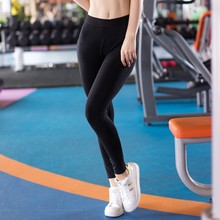 Hot sale! Promotion Elastic Waist Tight Yoga Leggings Skinny Fitness Gym Trousers Training Sports Pantalones Running Pants Women