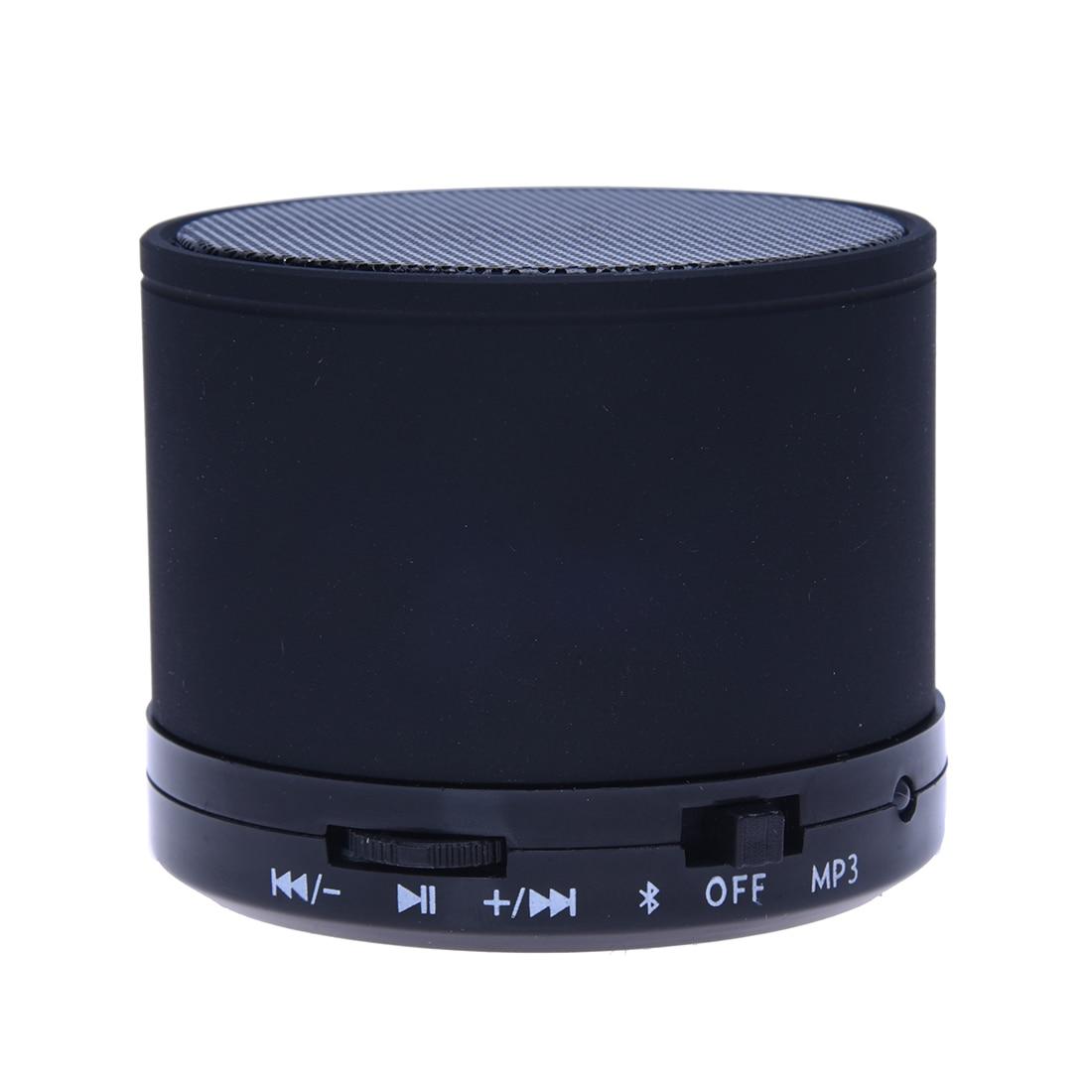 Mini Portable Multimédia Haut-Parleur USB Micro SD TF Carte Noir pour iphone ipod CD