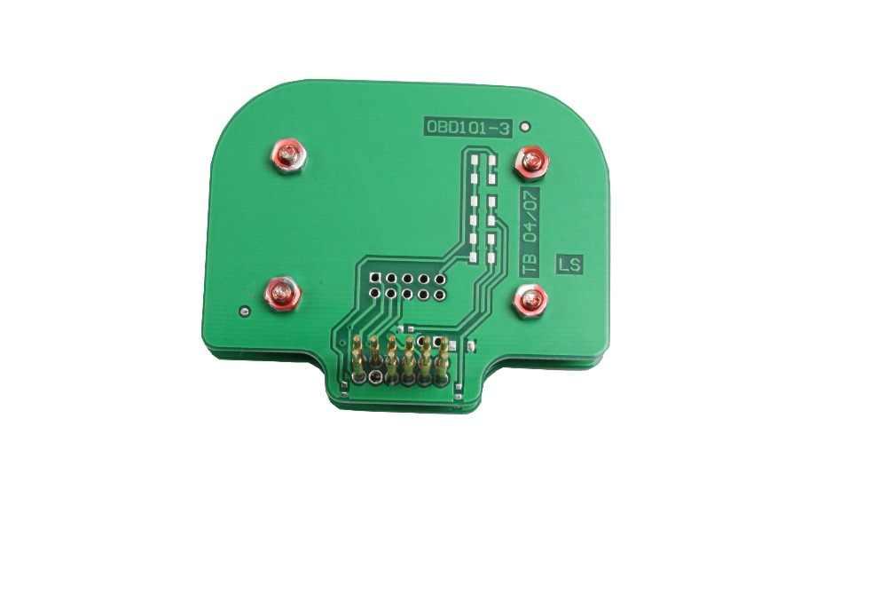 Grosor 2mm N. ° 201 EDC16 Optican n. ° 201 EDC16 para la sonda Siemens funciona con el adaptador de Marco BDM Siemens n. ° 101
