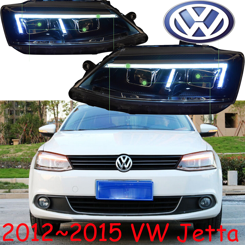 Jetta headlight,2012~2015,MK6,Free ship,jetta fog light,hid xenon,jetta taillight,passat,polo,magotan,sagitar,jetta head light popular new polo polo modified gti taillight 11 13 new polo taillight modification
